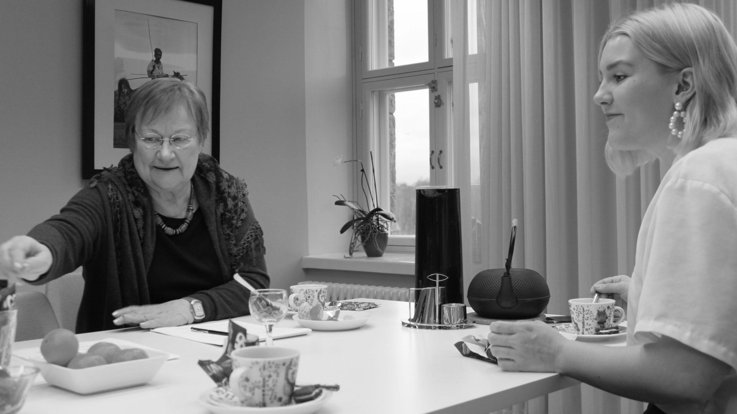 """Presidentti Tarja Halonen: """"Ilmastoahdistus on ensimmäinen askel sen ymmärtämisessä, että homma on pielessä"""""""