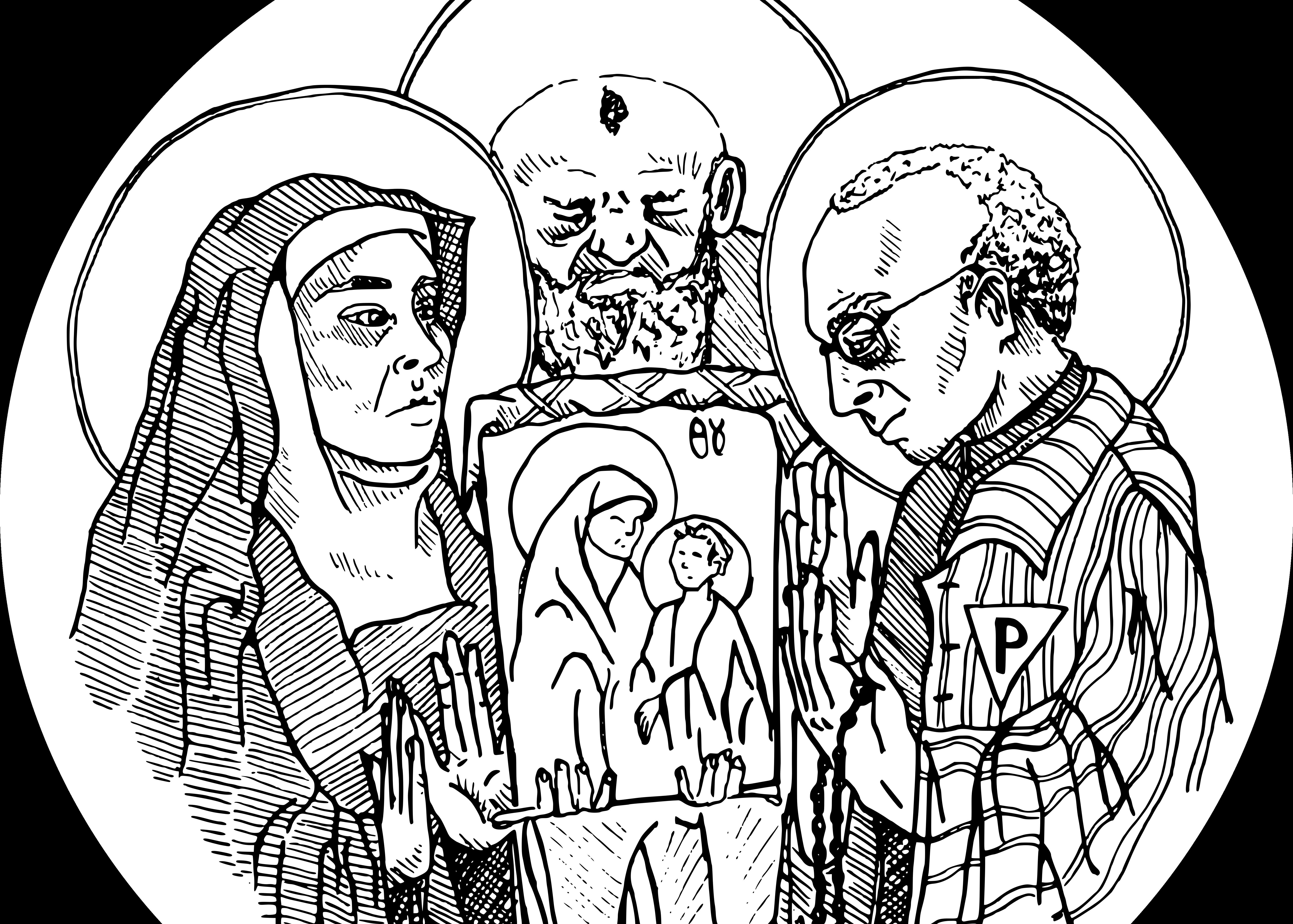 Elävät ikonit – introitus